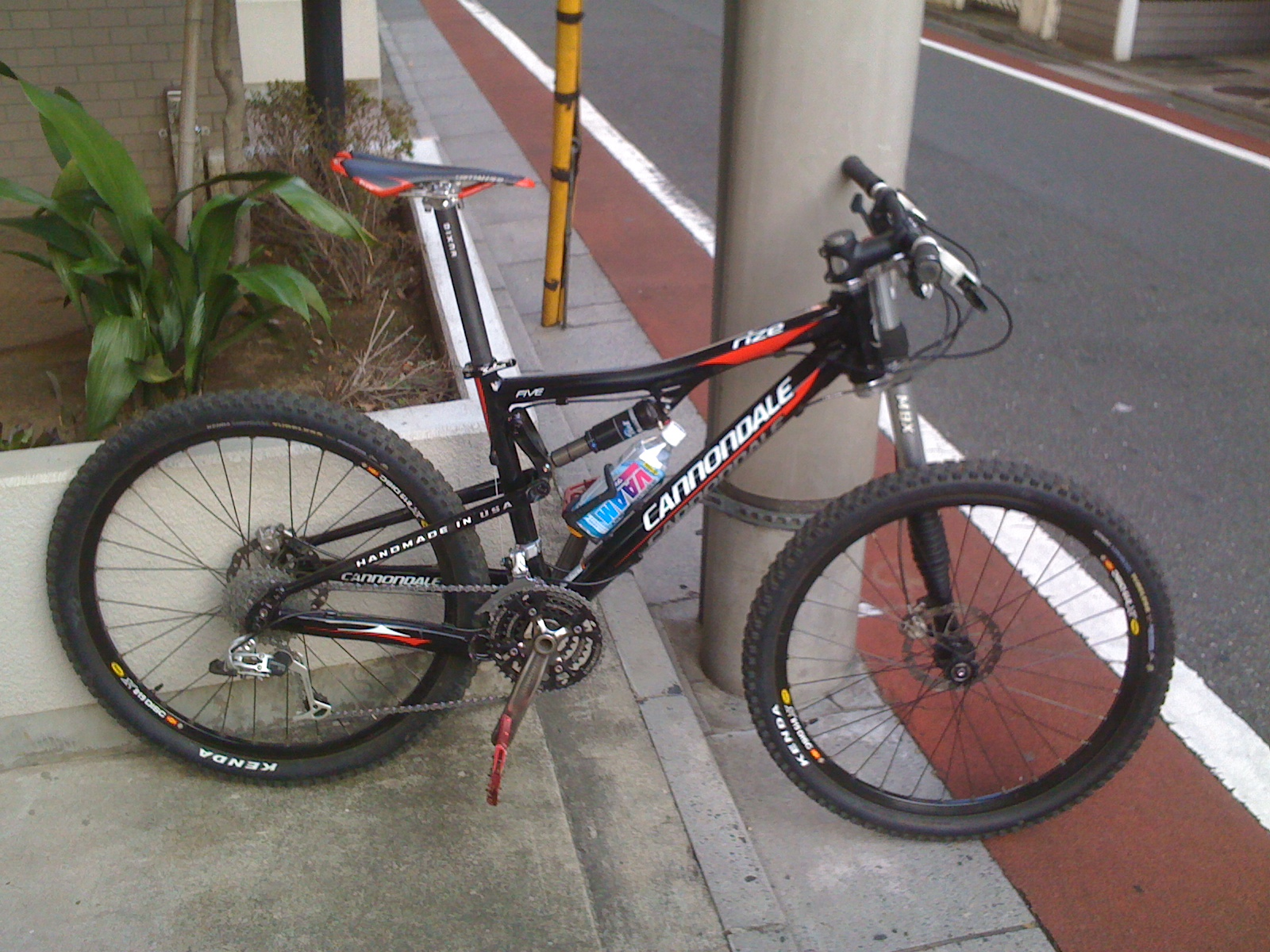 VAAM + Cannondale Rize号