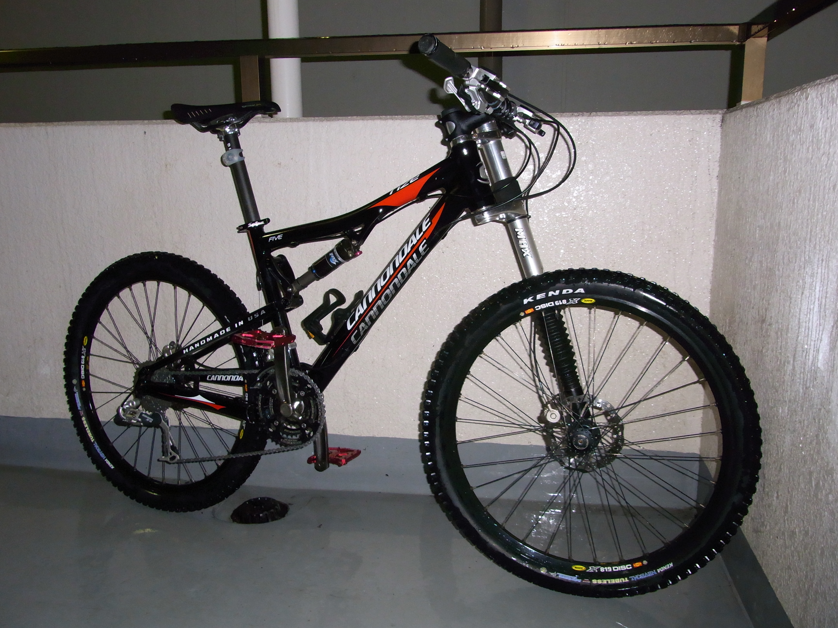 Cannondale Rize 5 2009 + Prophet 2005 Parts