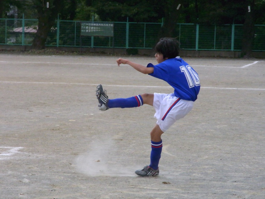 長男がいた頃のサッカー部