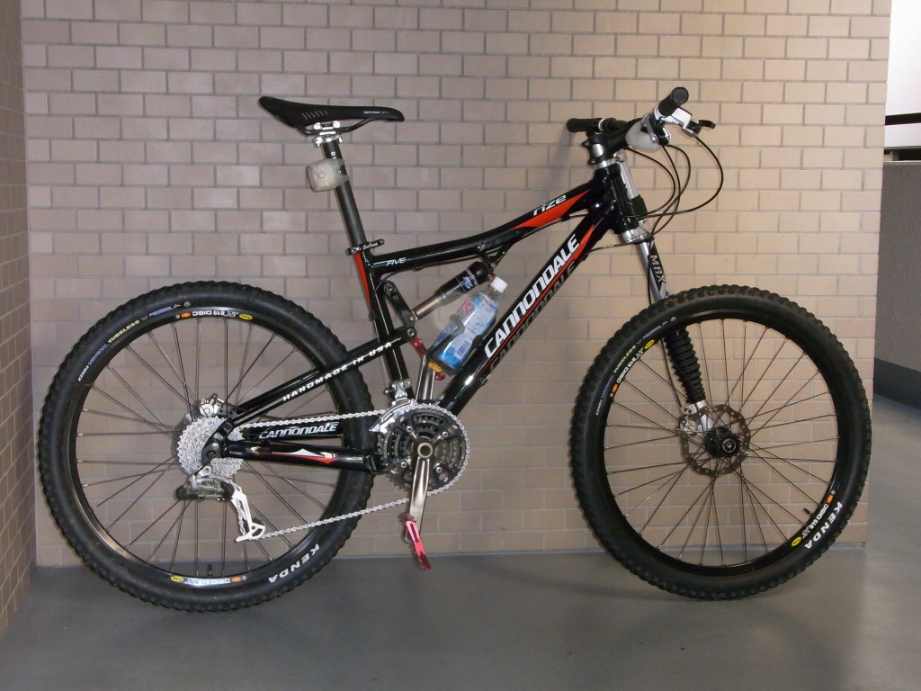 Cannondale Rize 5 (2009) + Lefty Max 130 TPC+ (2004)
