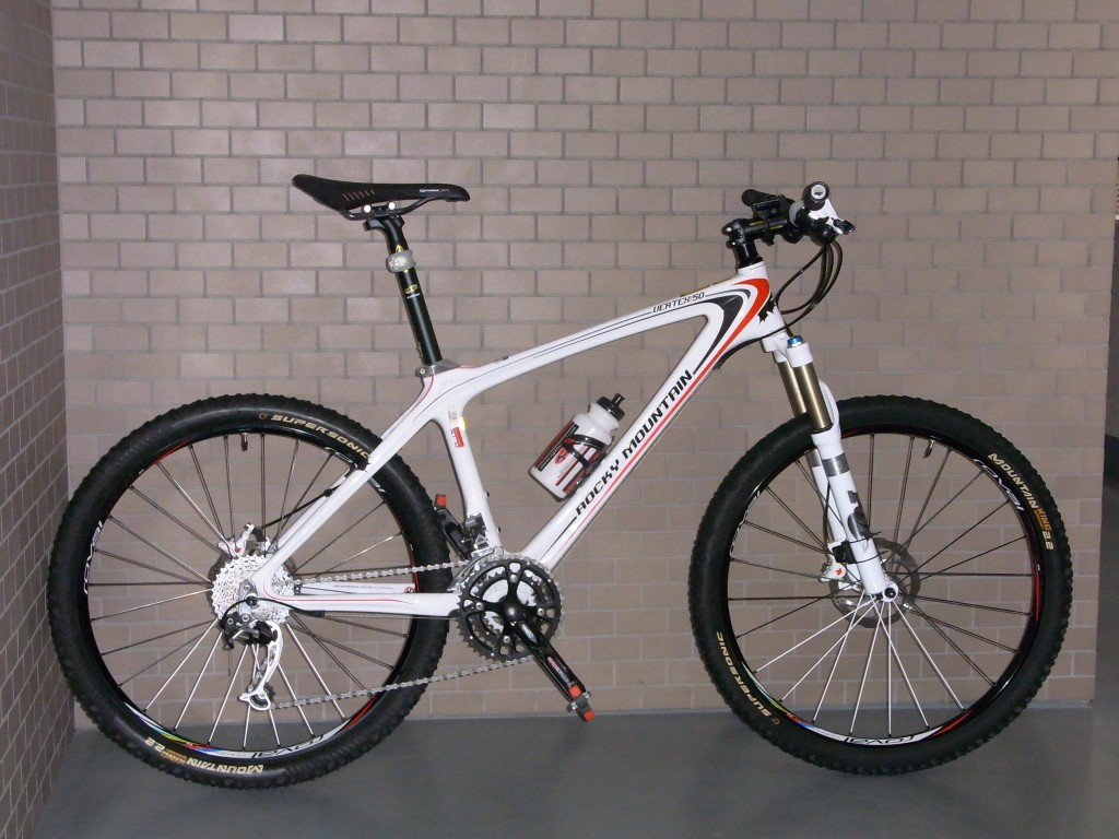 Rocky Mountain Vertex RSL 50 (2009) + Roval Controle SL XC Wheelset (2009?)