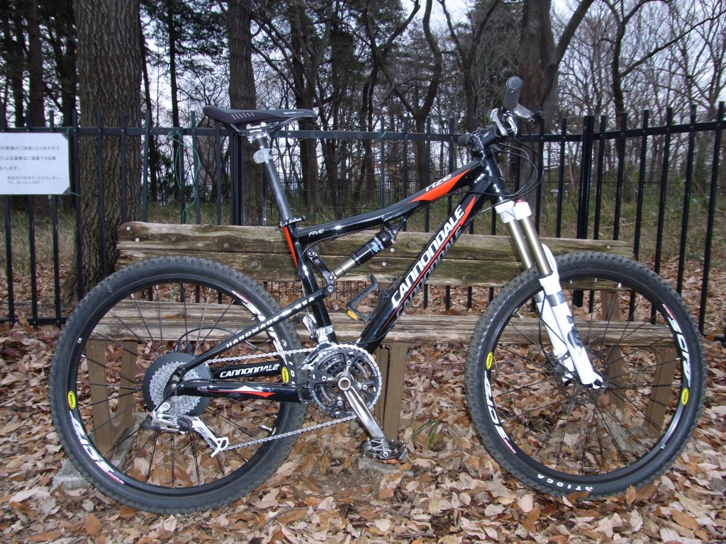 Cannondale Rize + FOX FORX 32 FLOAT 140 R