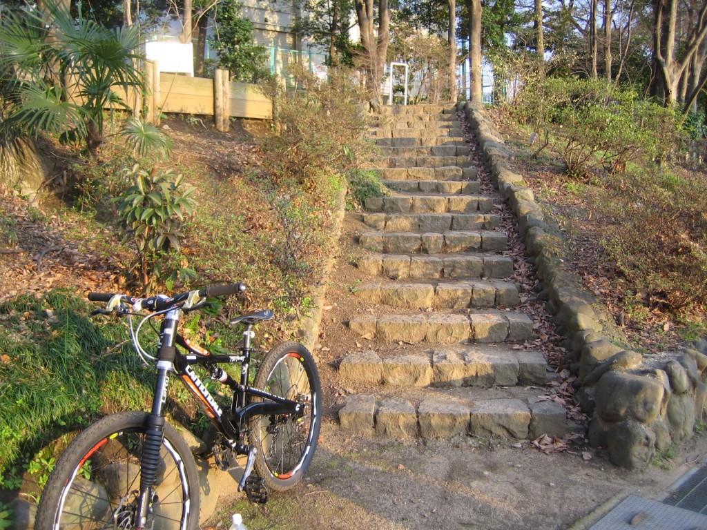 こういう階段を一気に抜けるならLefty