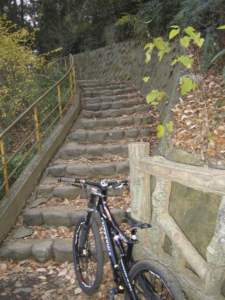 初トライの階段