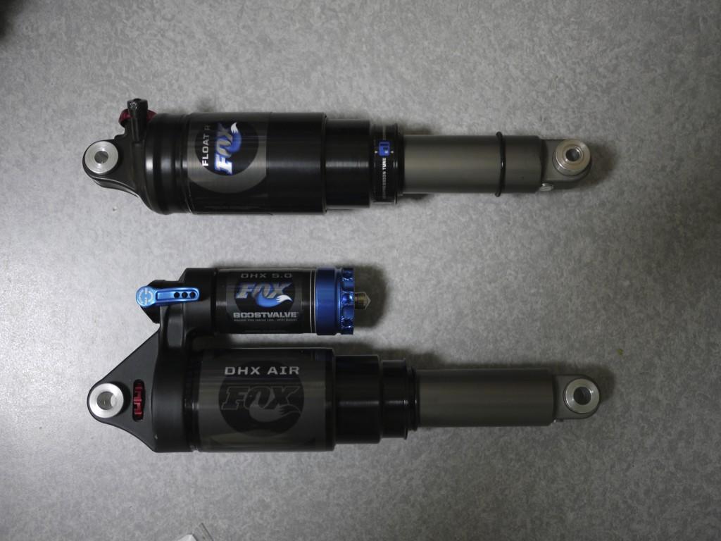 FOX RACING SHOX DHX5.0 & FLOAT R