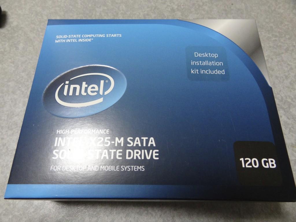 INTEL X25-M SATA SOLID-STATE DRIVE 120GB