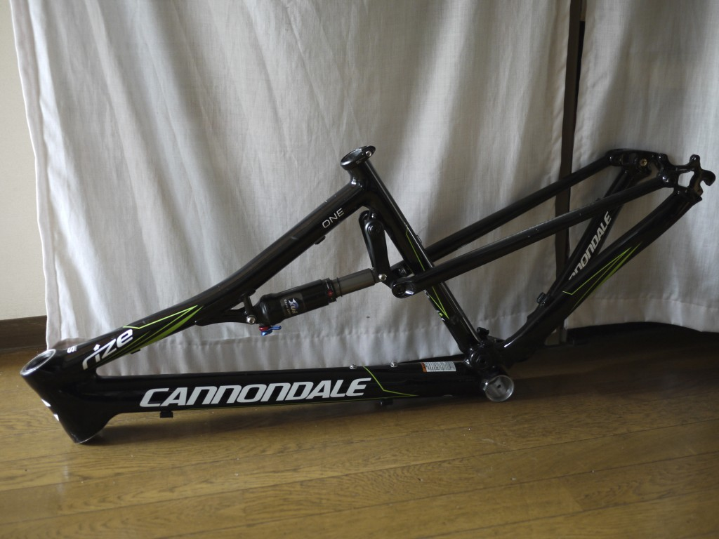 Cannondale RZ One Forty One Frame