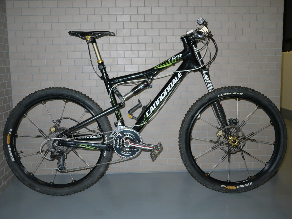 Cannondale Rize 140 + Continental Rubber Queen 2.2 UST