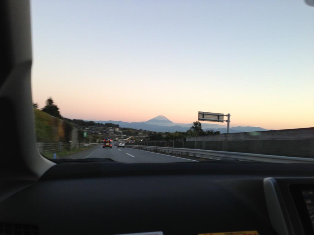 昨日掲載し忘れた富士山