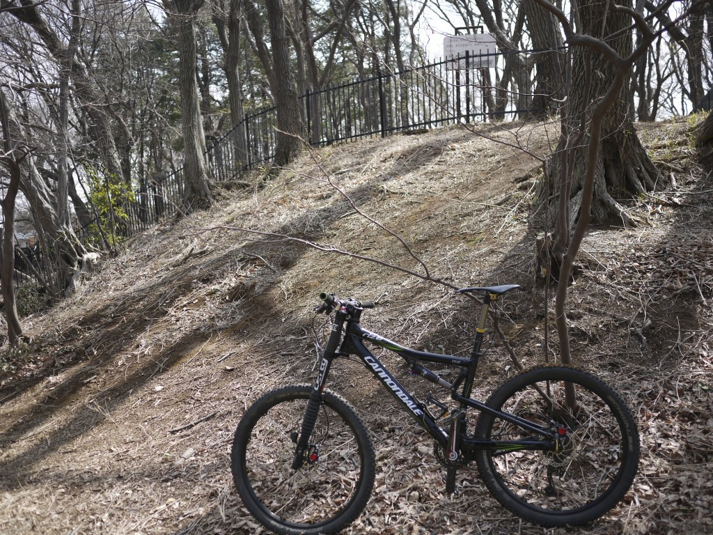 とても登れる雰囲気ではなかった坂
