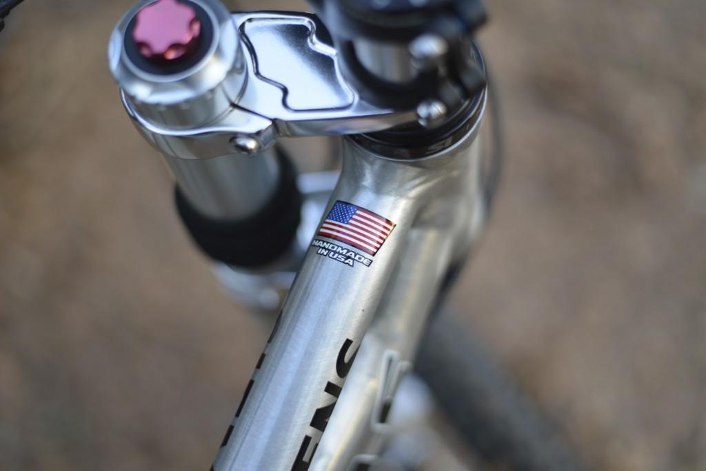 なんといってもHand Made in USA !
