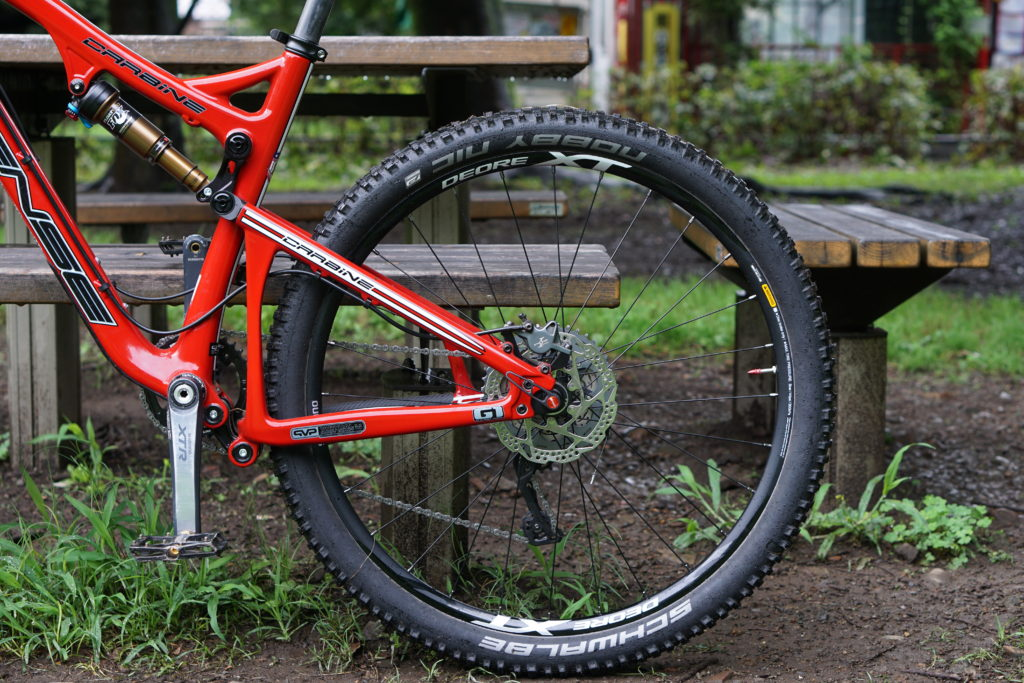 Shimano XT Wheel