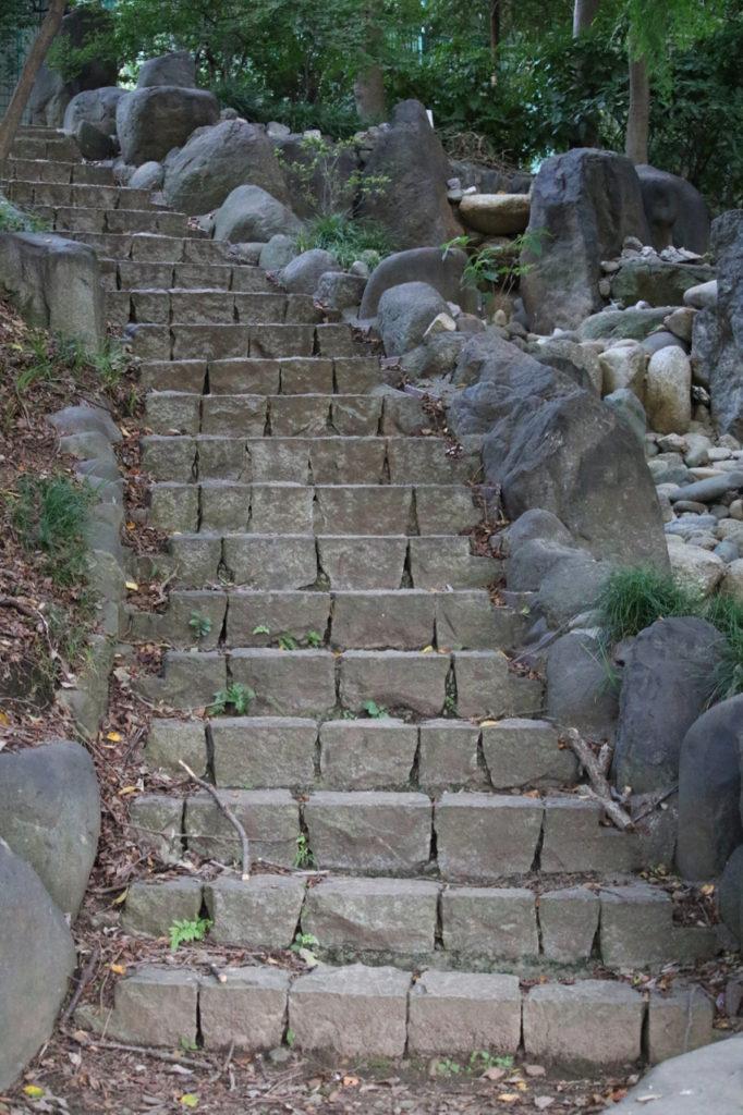 この階段を下りる感覚も良くなりました