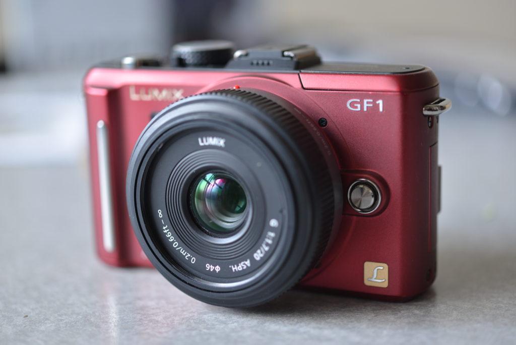 Panasonic GF1 Red