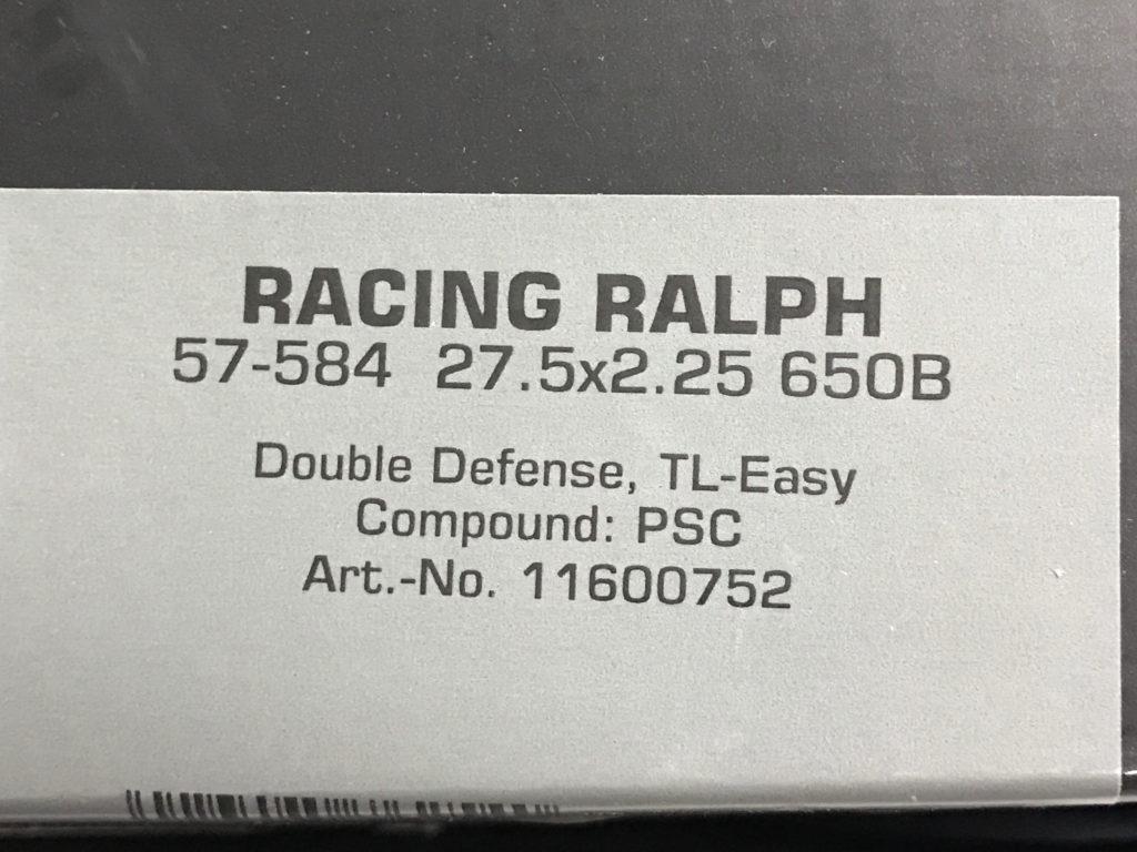 Schwalbe Racing Ralph 27.5 2.25 650B DD TLE PSC