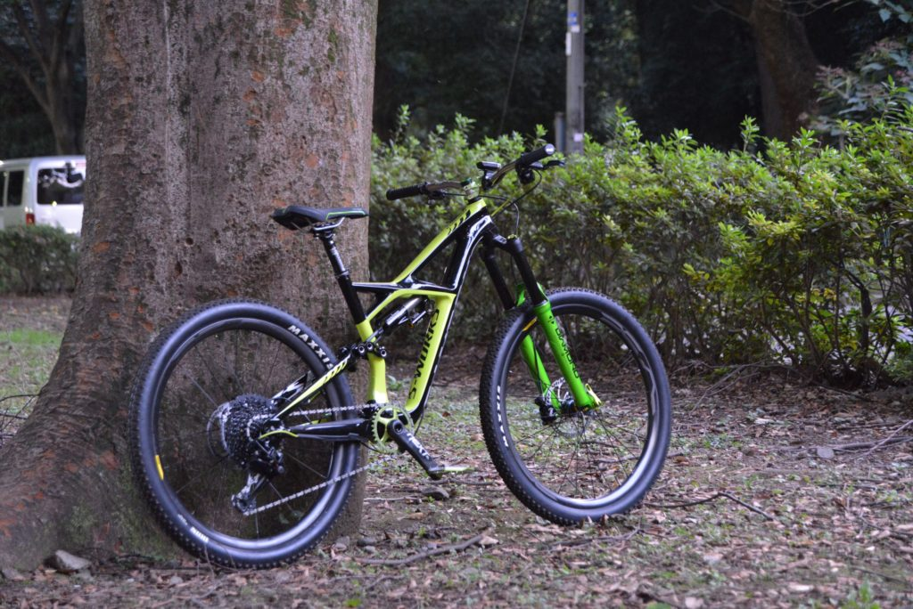 Gemini SさんのSpecialized Enduro号