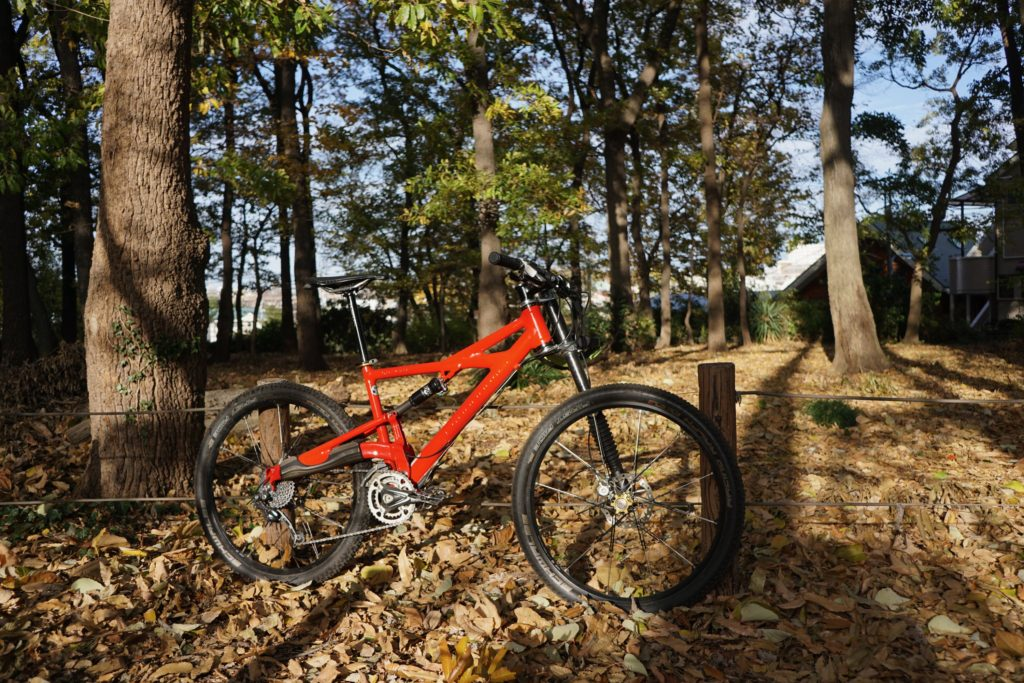 Cannondale Prophet 26erにて