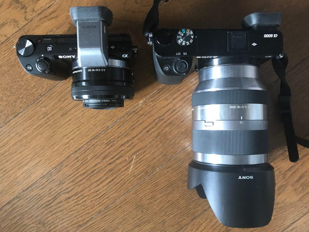 SONY NEX-5T VS α6000