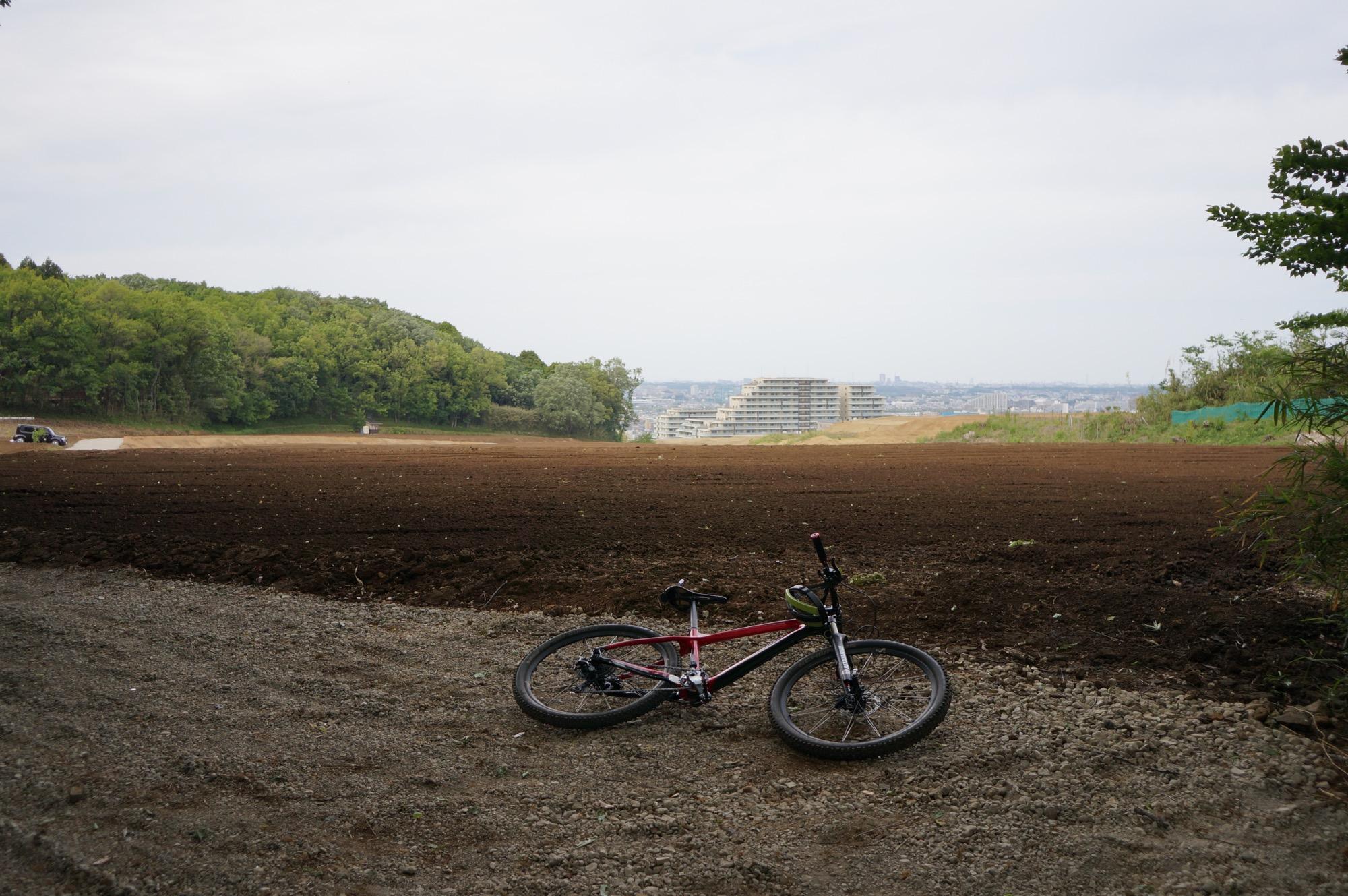 M Trail。農地造成も終わったみたい