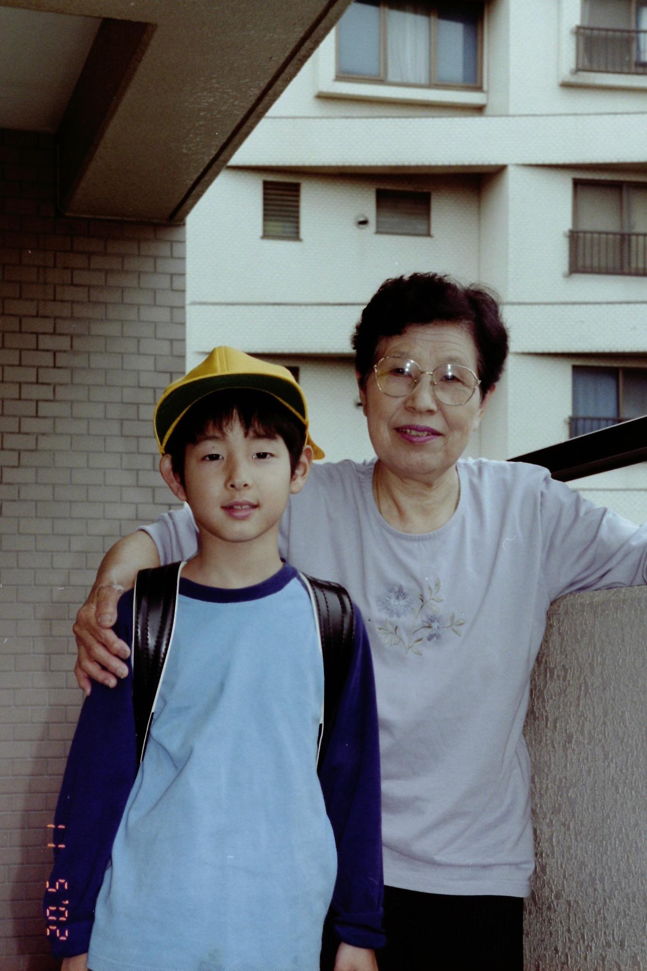 2002年5月 小学1年生のとき