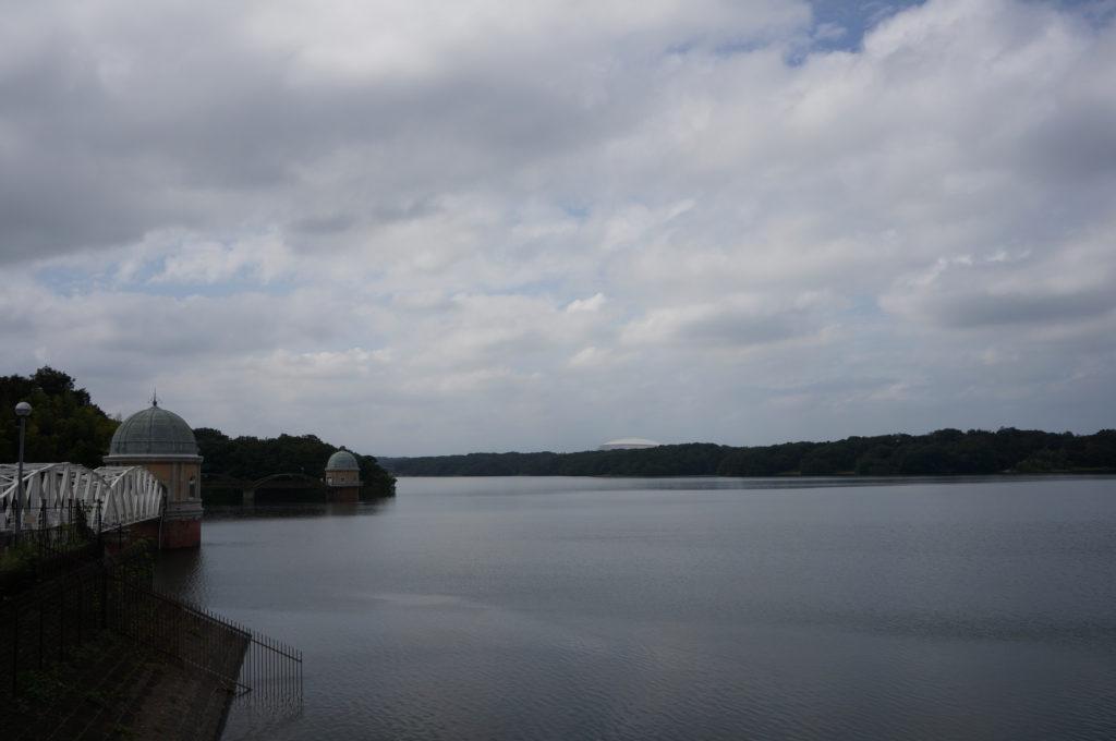 2日連続で多摩湖