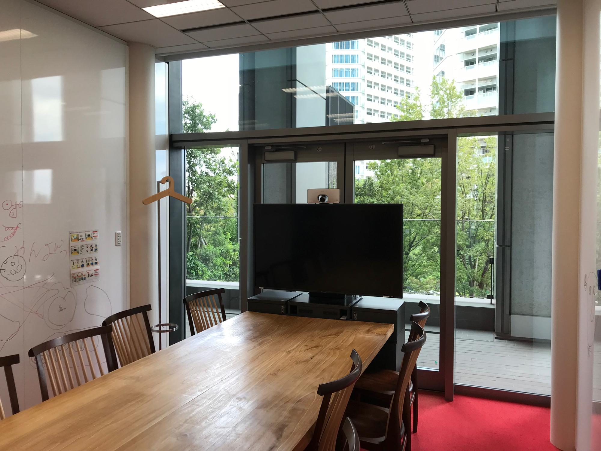 2階の会議室