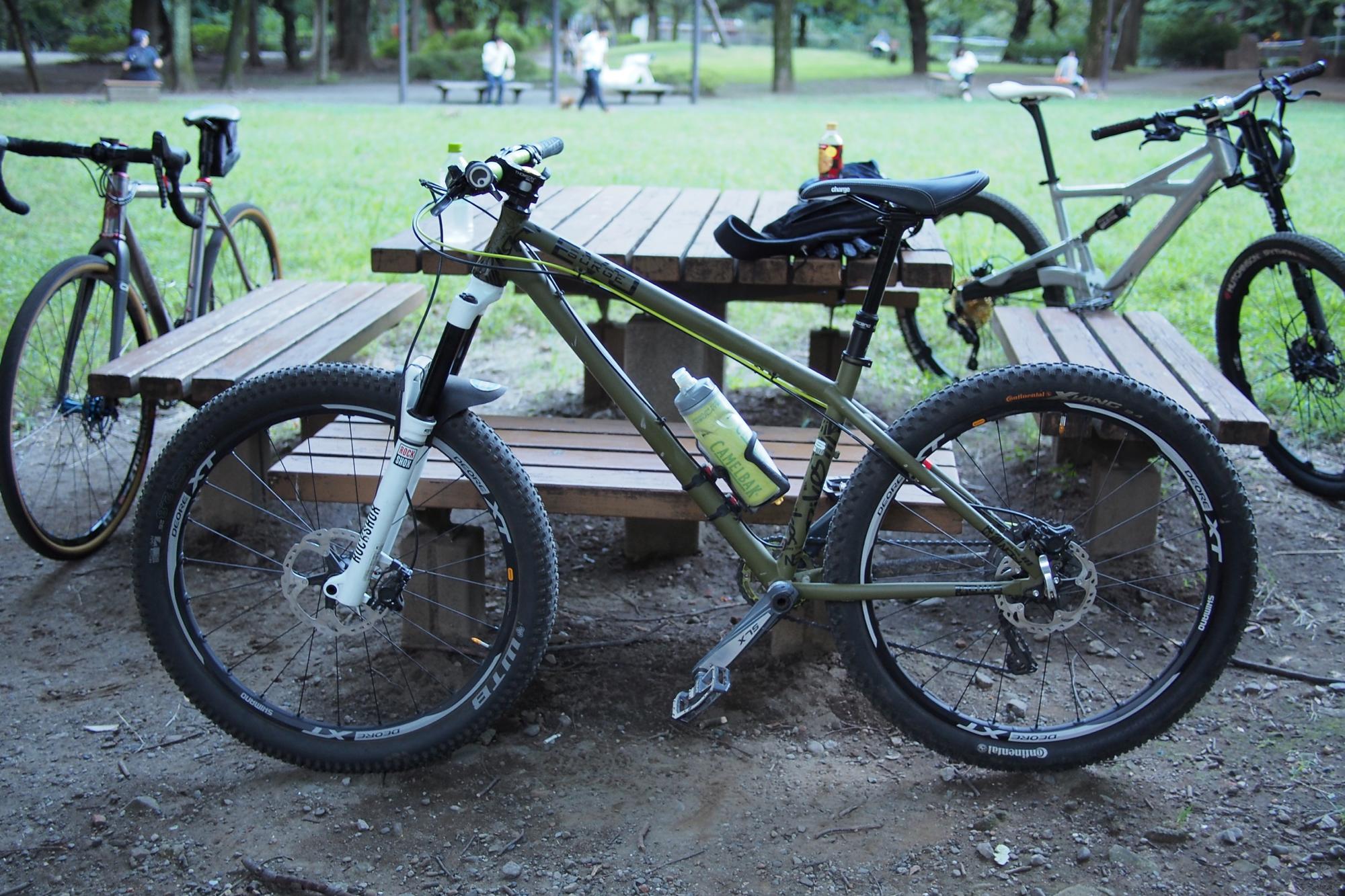 Trail-SさんはNS Bikesで