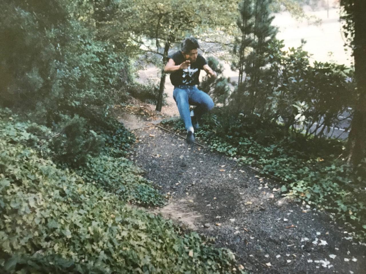 はずかしながら1989年9月頃の私です