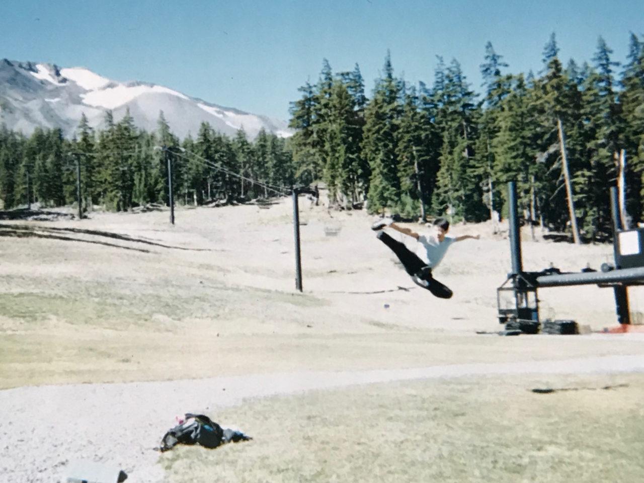 オレゴン州のスキー場での一コマですね