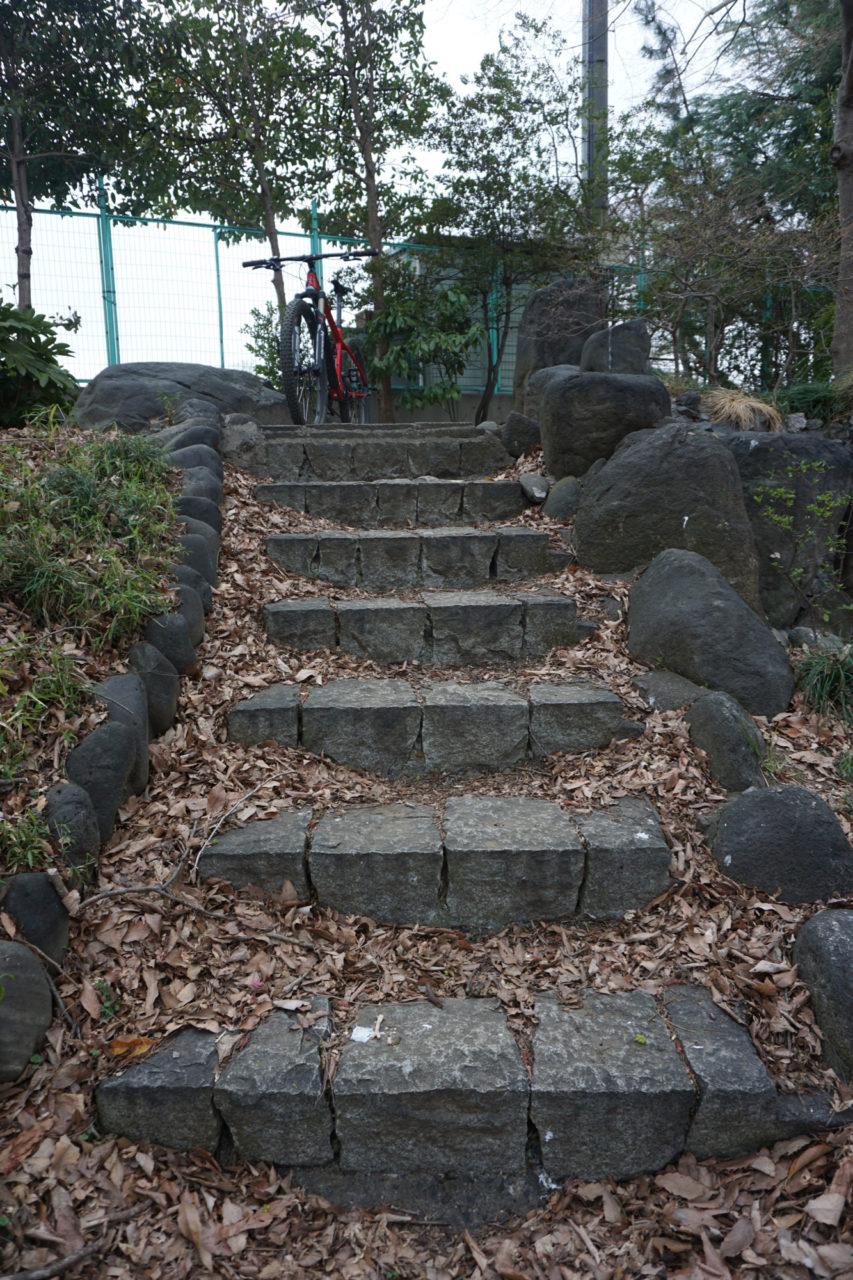 階段前半部