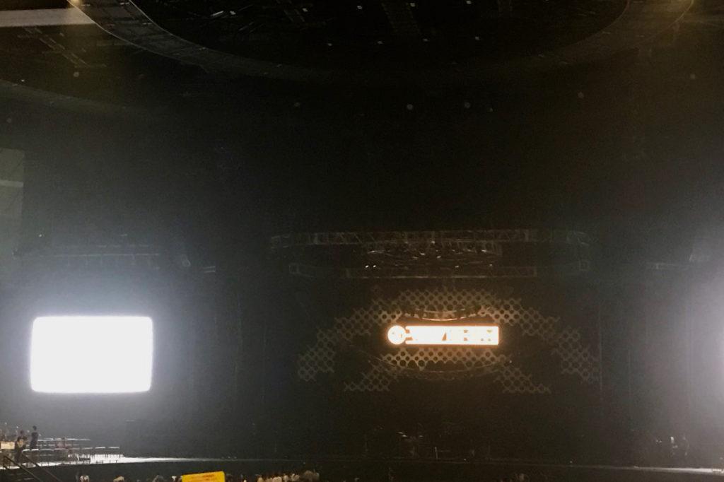 ライブ開始前の様子