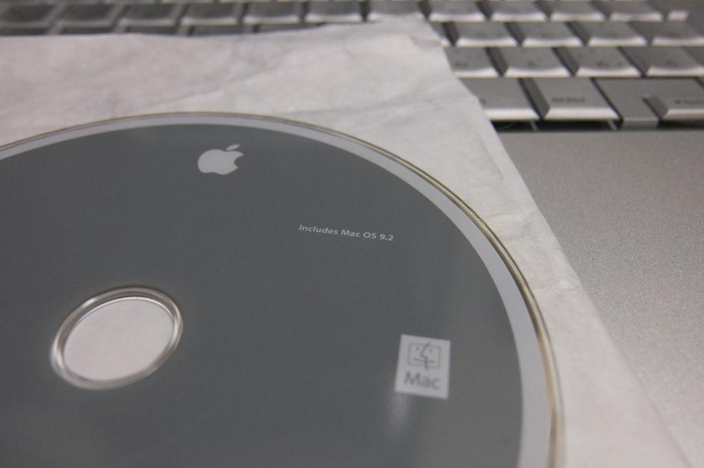 PowerBook G4のインストールディスク