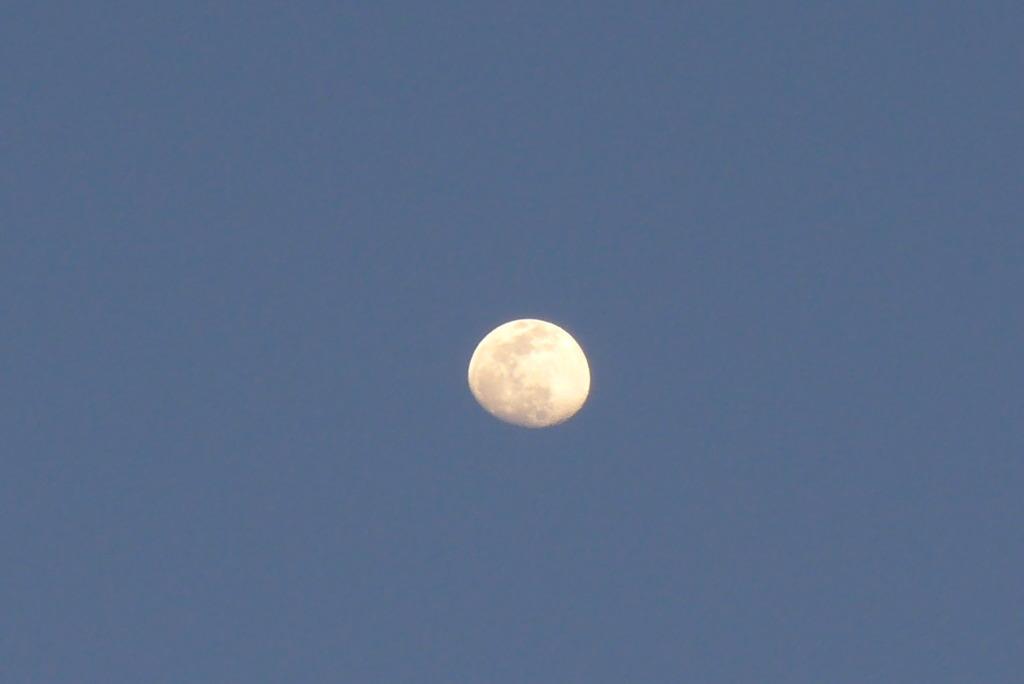 超解像のお月さん