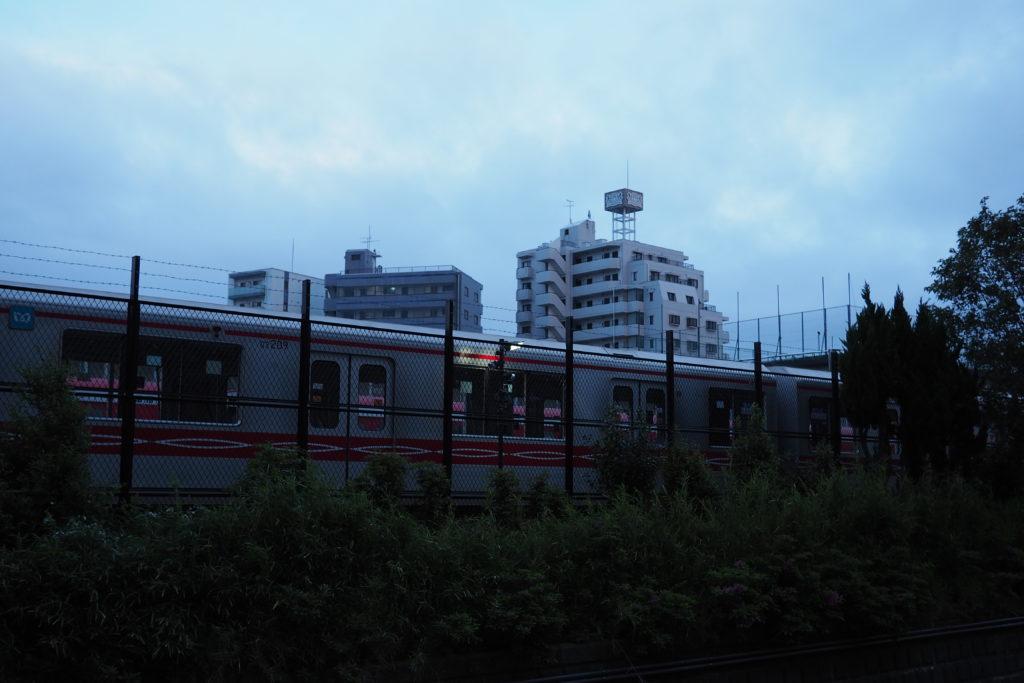 東京メトロの車庫