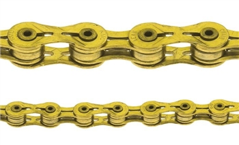 KMC X9 SL Chain Ti & Gold 9 Speed