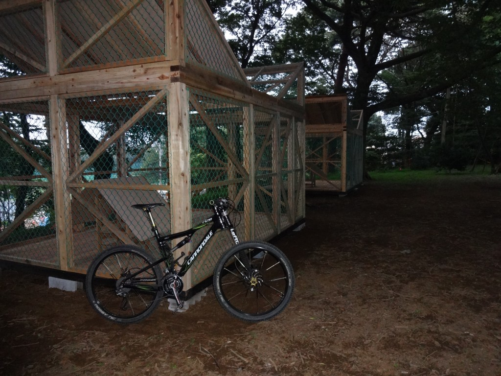 新しいカラス小屋