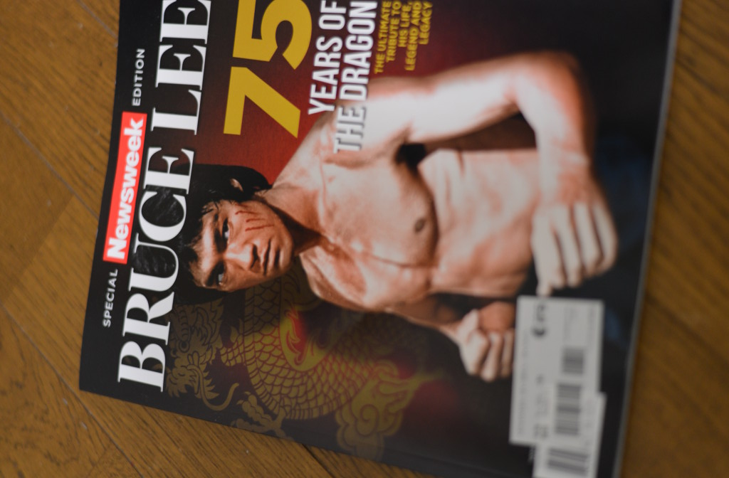 Special Newsweek Edition Bruce Lee 75 Years of the Dragon