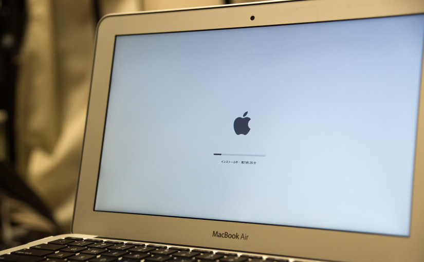 macbook air 11inch mid 2011 かな