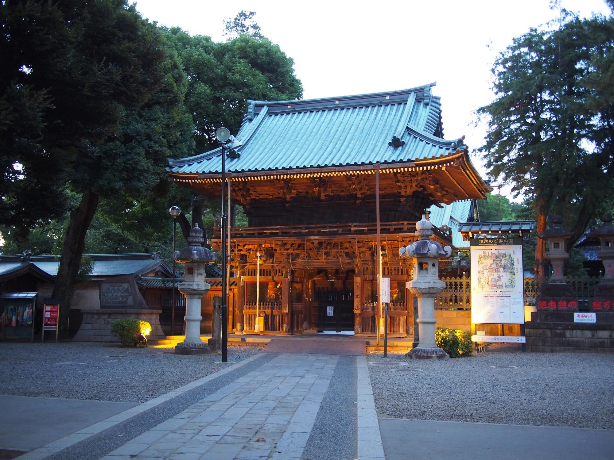 最後に立ち寄った妙法寺
