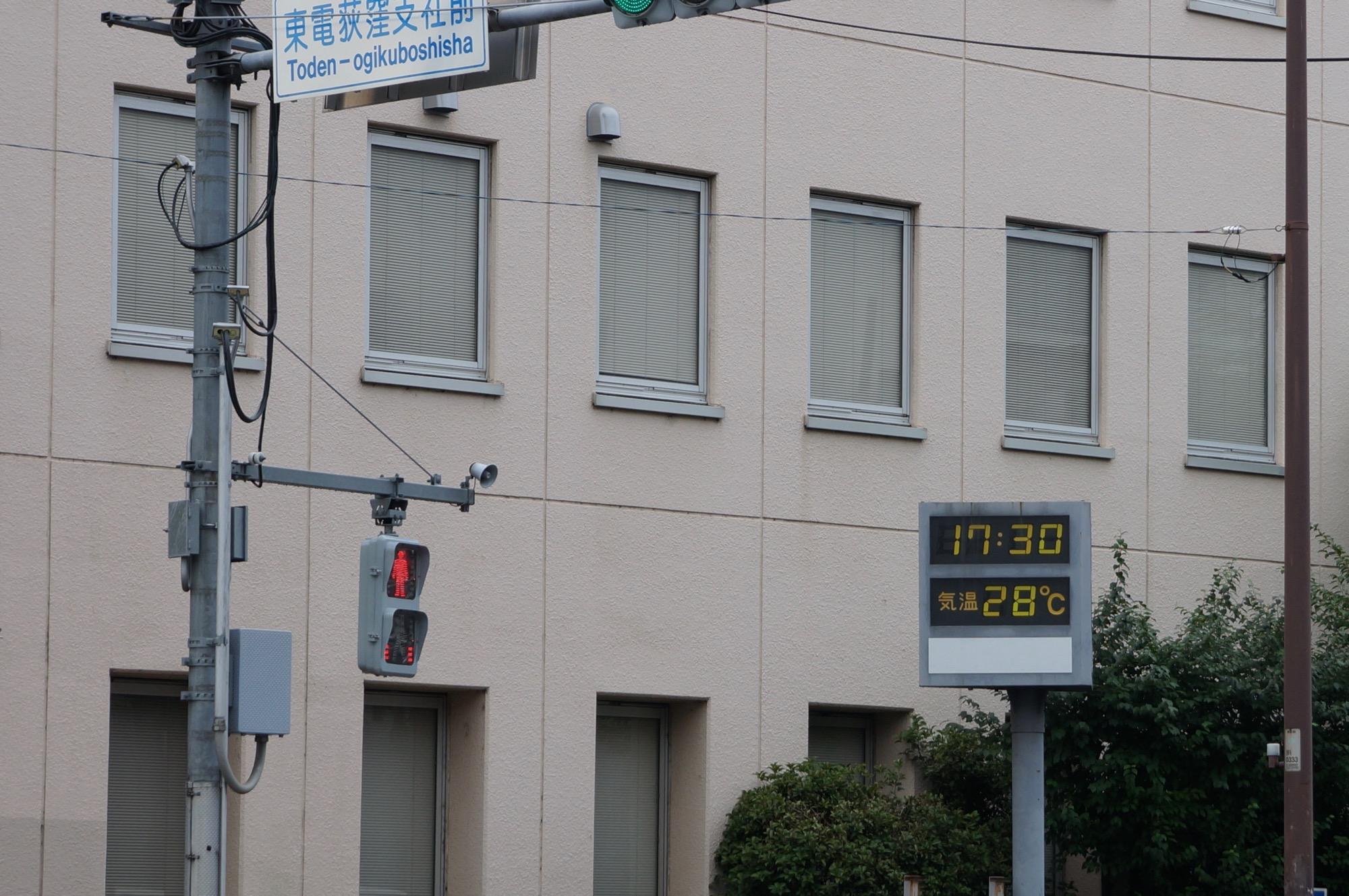 復活したNEX-5Tにて。今日の温度は28℃と低いのですが、体感は35℃を超えている気がします