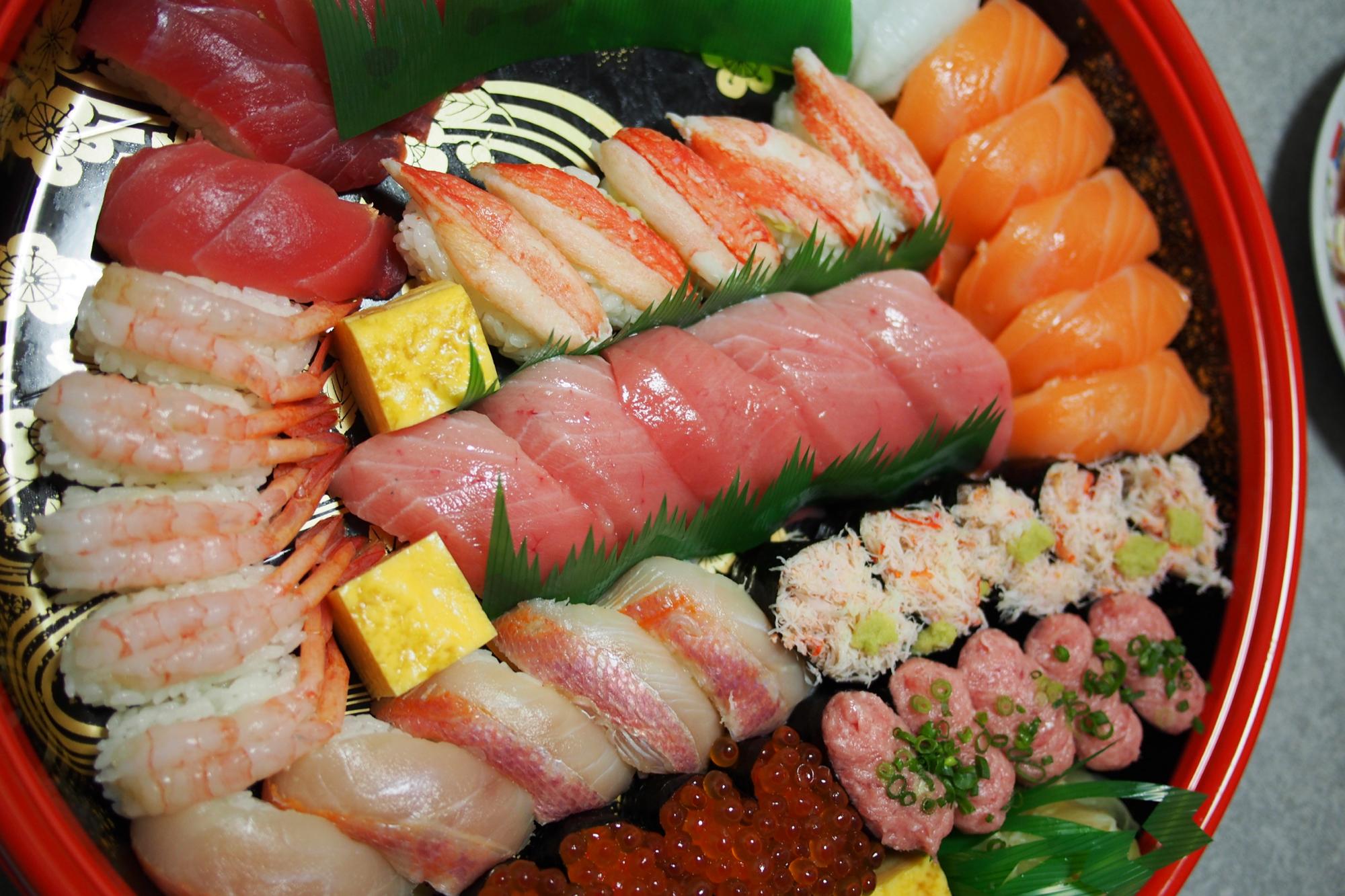 にぎり寿司5人前
