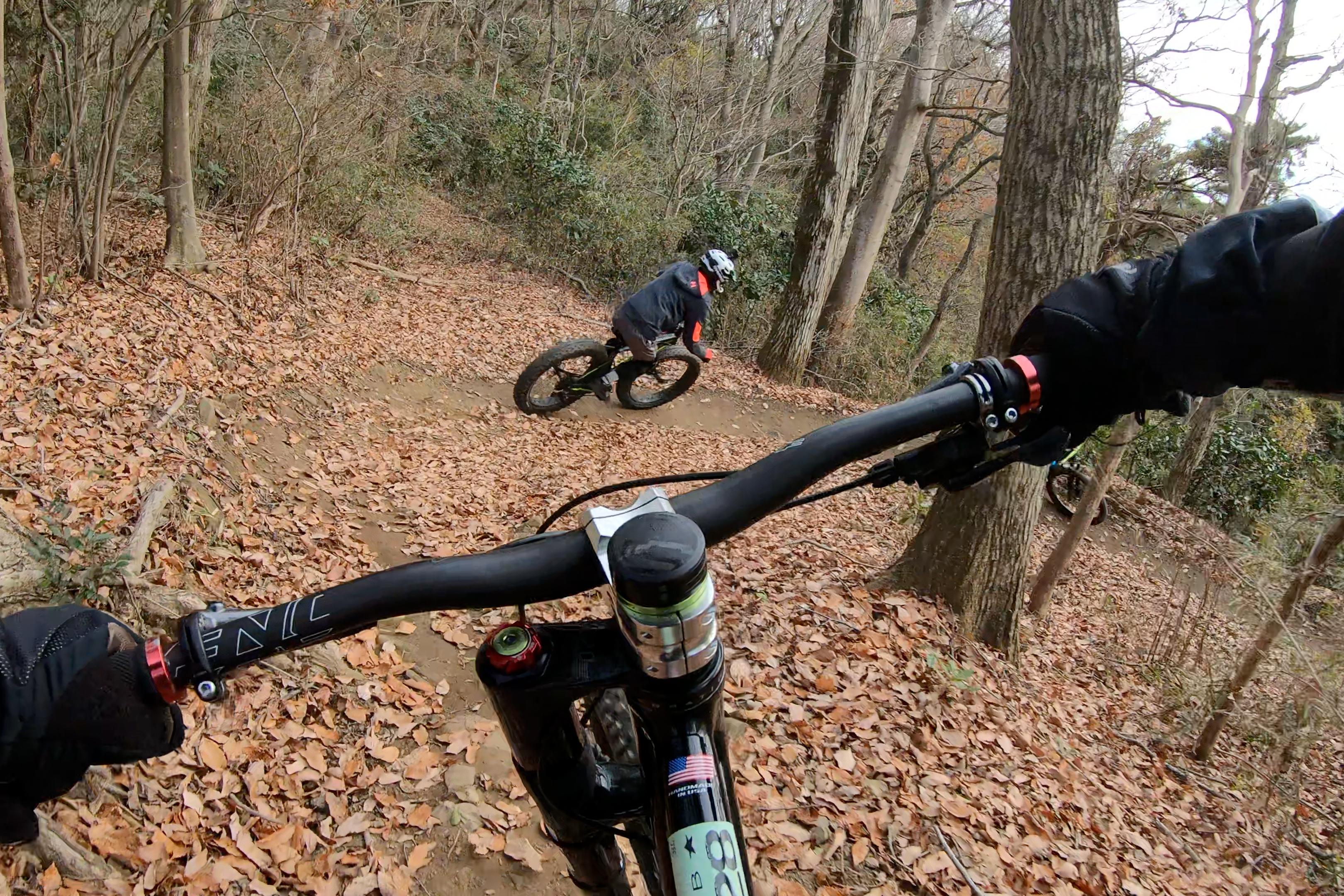 先行するLefty搭載Fat Bike