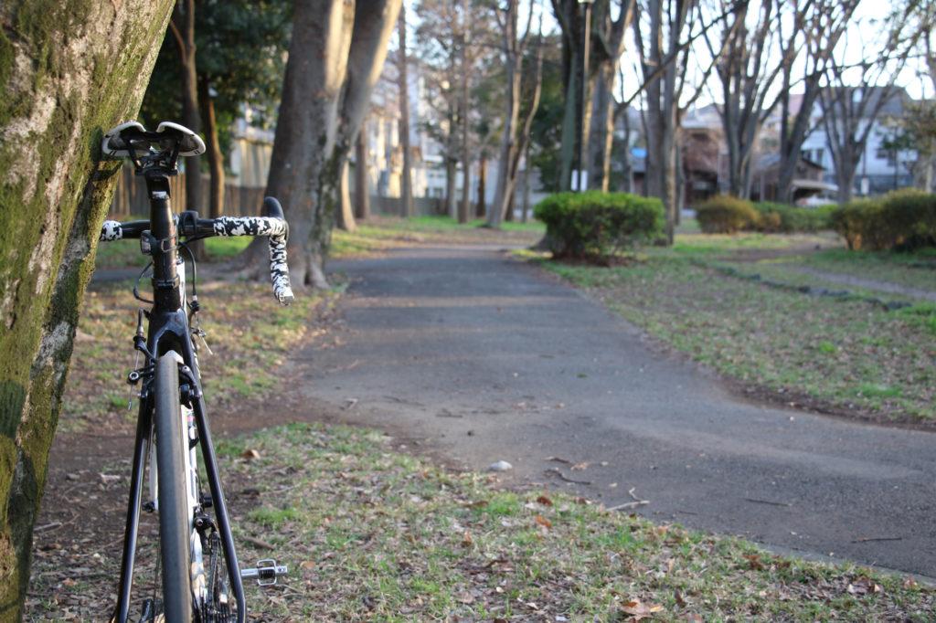 旧サイクリングコース