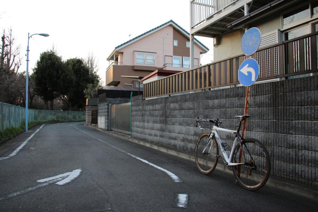 新サイクリングコース