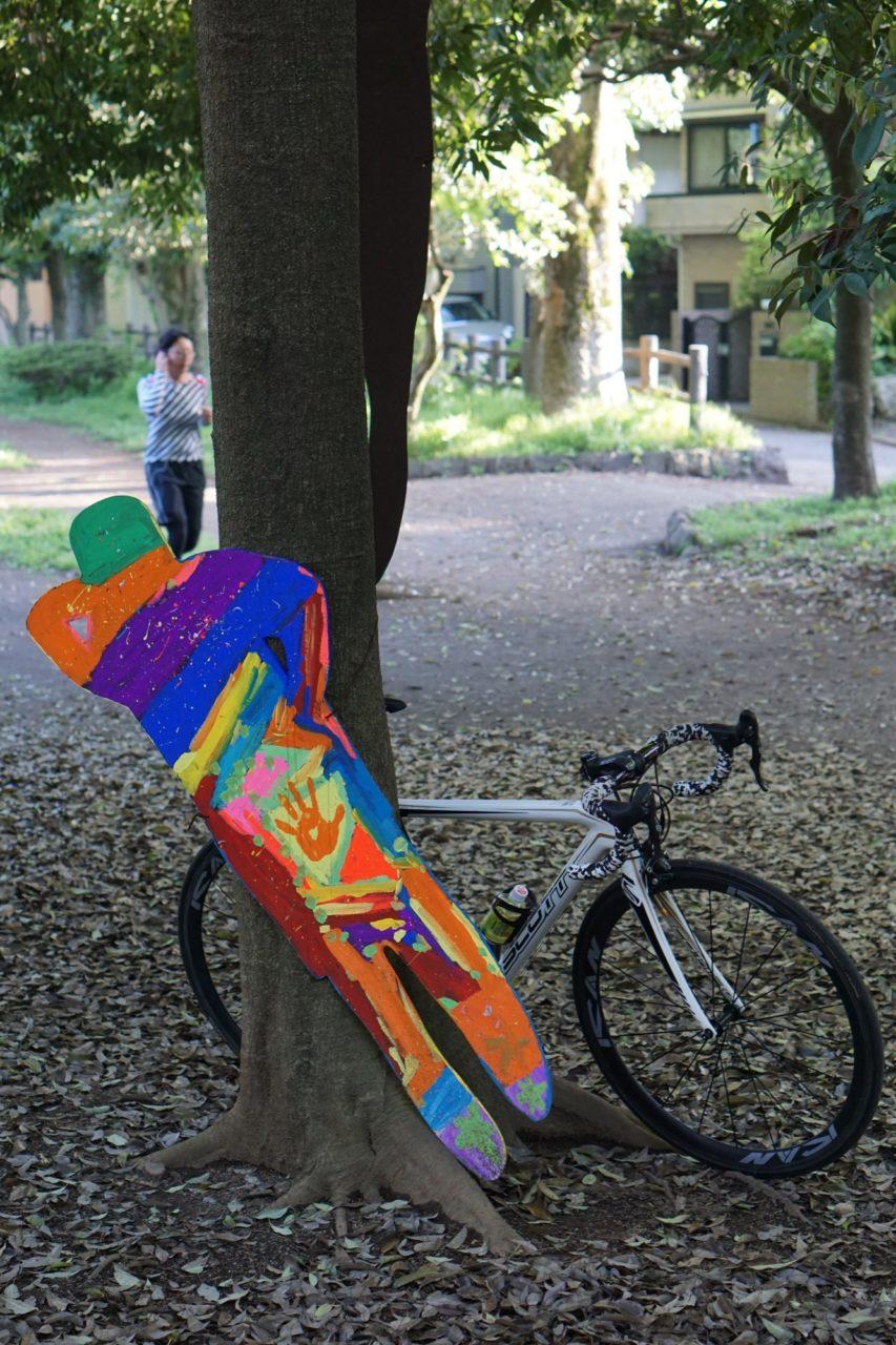 妖精とロードバイク