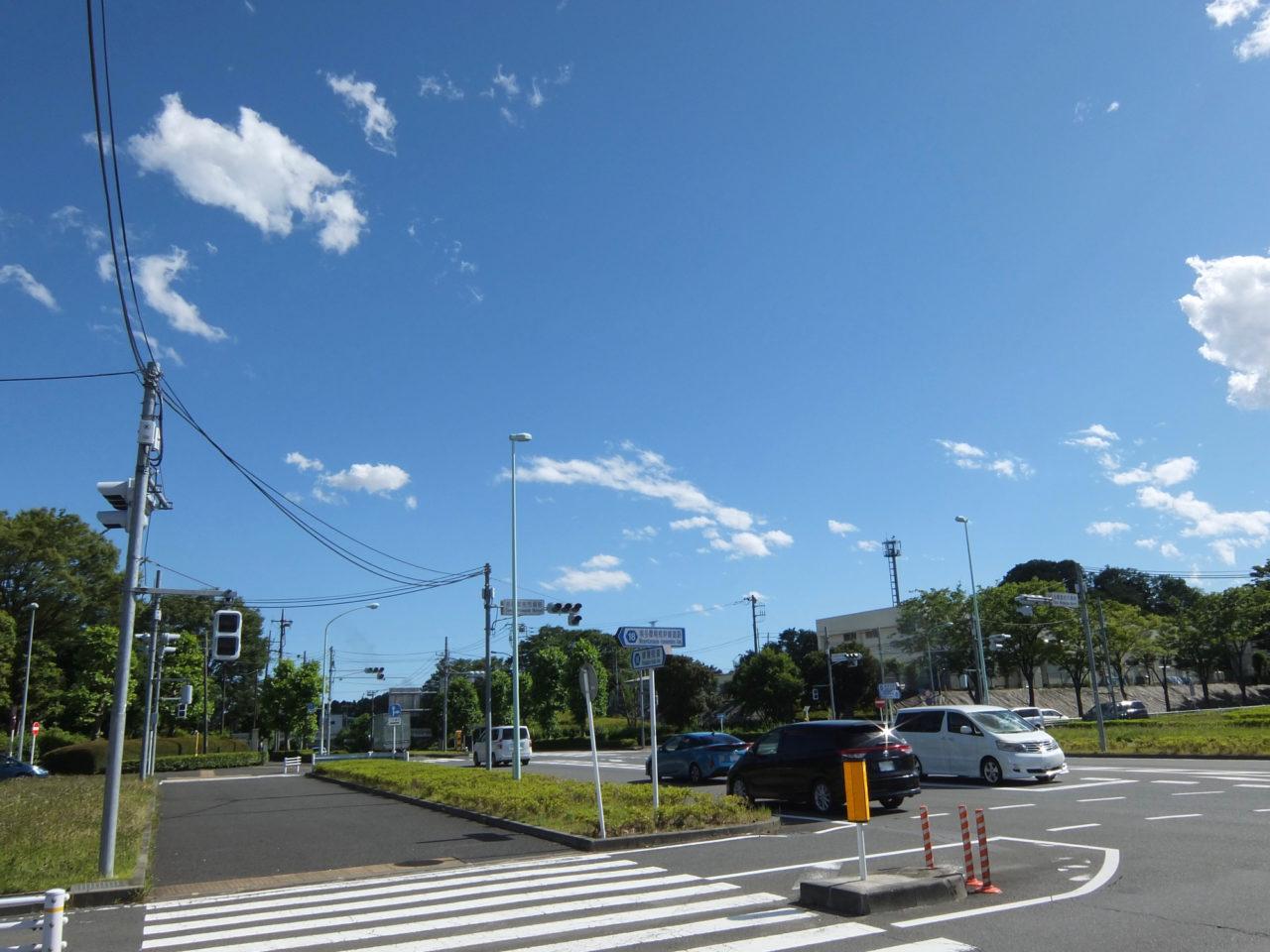 鎌倉街道との交差点