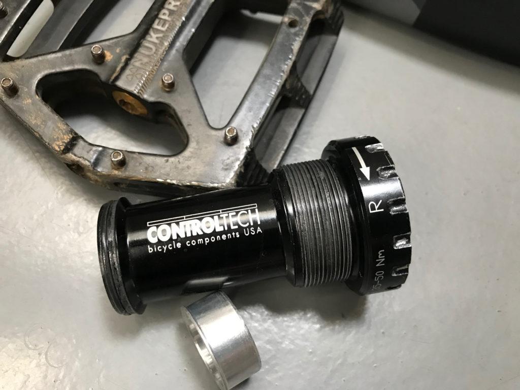 古いCONTROL TECHのBBを発見
