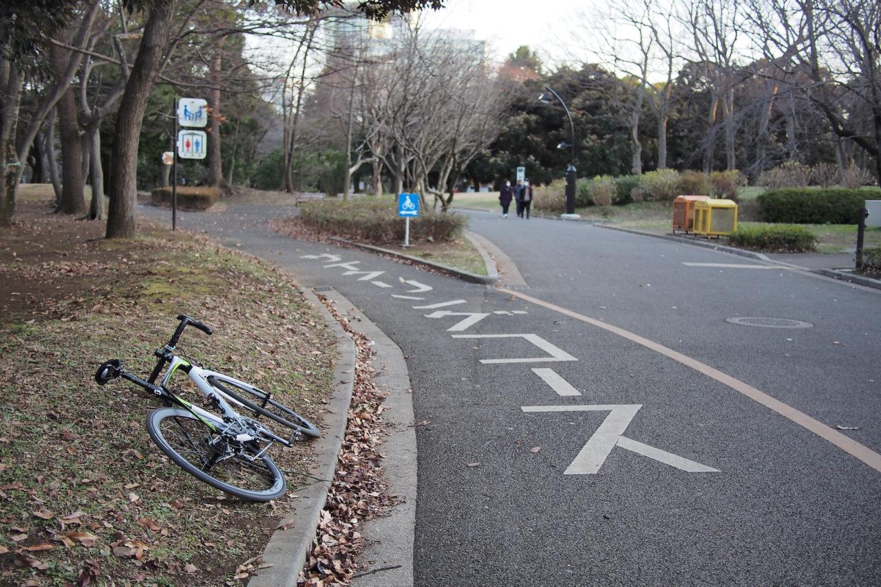 代々木公園サイクリングコース