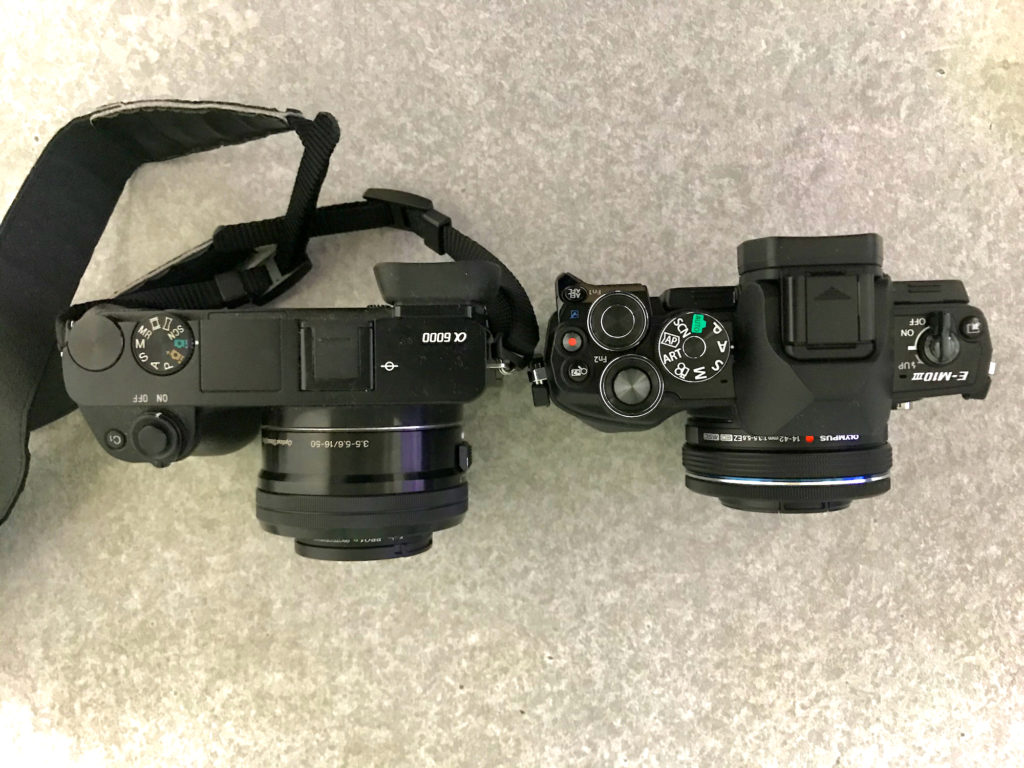 a6000 と E-M10 III