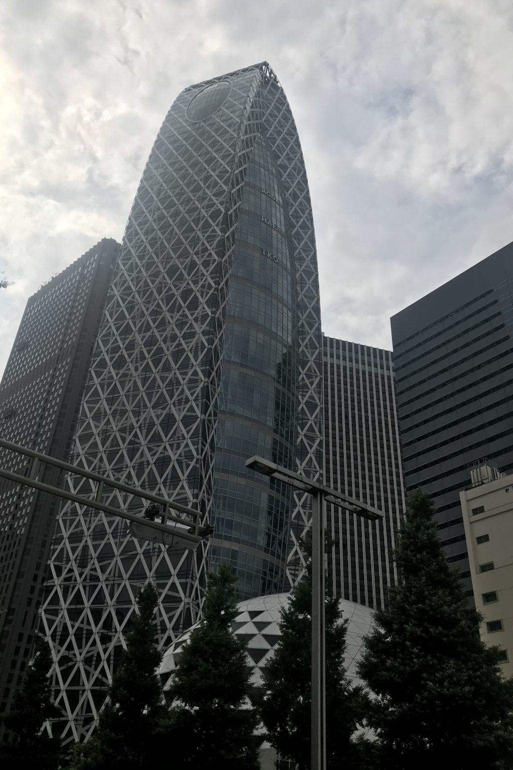曇りの新宿